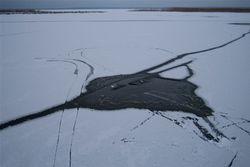В Донецке погиб провалившийся под лед 8-летний мальчик