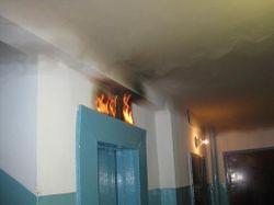 В многоэтажке Киева загорелся лифт – выводы