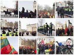 Под оком полиции по Вильнюсу шли националисты – есть задержанные