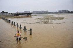 ливень в Китае