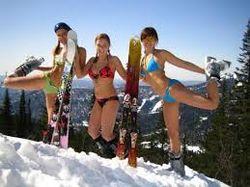 В Кузбассе зафиксирован рекорд Гиннеса - 1000 обнаженных лыжников