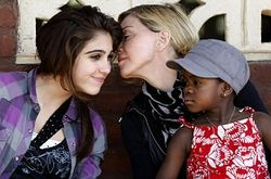Мадонна с дочерьми
