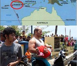 Плывшие в Австралию мигранты потерпели кораблекрушение