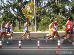 Престижный марафон состоялся в Пекине