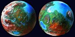 Вот так бы выглядел Марс, если бы на нем существовала жизнь