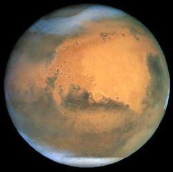 На Марсе зафиксирована гигантская пылевая буря