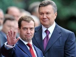Медведев и Янукович