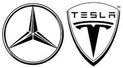 Mercedes и Tesla