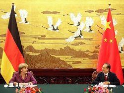 Ангела меркель в Китае