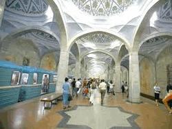 Станция метро Ташкента