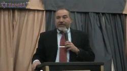 Глава МИДа Израиля Авигдор Либерман о настоящем и будущем своим избирателям