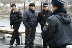 Гастарбайтеры под защитой полиции