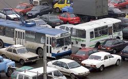 пробка в Минске