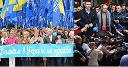 Пошумели и разошлись: 18 мая в Киеве были драки, газ и БТР
