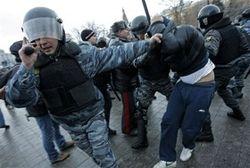 арест митингующих