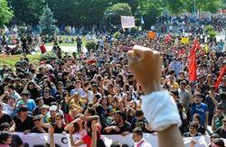 Эрдоган вынес демонстрантам «последнее китайское предупреждение»