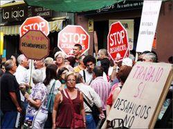 «Ипотечные» митинги в Испании приносят свои плоды