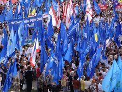 В Симферополе прошел антифашистский митинг, собравший 22 тыс. человек