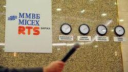 Биржи России начали торги в плюсе
