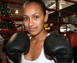 Модель получила титул чемпионки мира по боксу