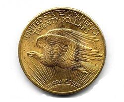 """монета """"двойной орел"""""""