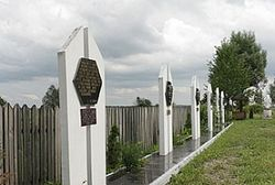 Акту вандализма подвергся памятник Степану Бандере в музее-усадьбе
