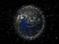 Вокруг Земли вращается около 15 тысяч объектов космического мусора – NASA
