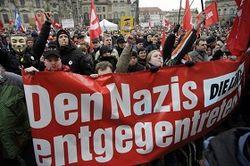 марш нацистов