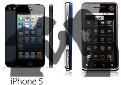 Накануне старта продаж iPhone 5 с рынка ФРГ убирают Motorola
