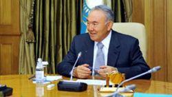 """Назарбаева удостоили звания """"почетный железнодорожник"""""""