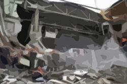 Ночью в Москве рухнуло здание: погиб человек