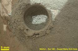 Марсоход Curiosity пробурил марсианский грунт ещё в одном месте – выводы