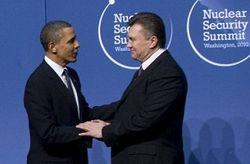 Обама и Янукович