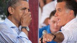 Обама и Ромни