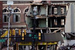 Здание в Филадельфии обрушилось из-за крановщика-наркомана