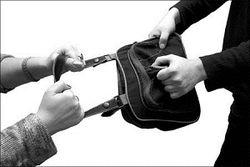 Ограбление журналистки