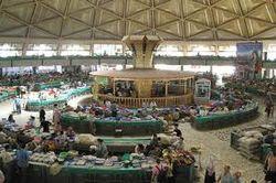 Главный оптовый рынок Узбекистана «Абу-Сахий» парализован проверками