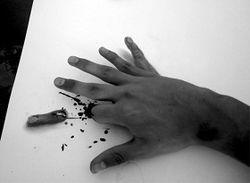отрубание пальцев