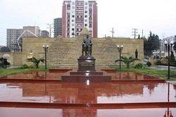 памятник Мубараку