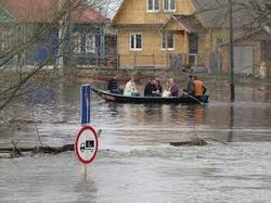 В Украине снегопады, в Воронеже паводок: 8 сел под водой