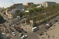 Журналисты стали случайными очевидцами перестрелки в Днепропетровске