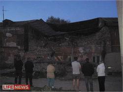 Обрушившийся дом в Кунгуре