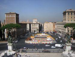 У Капитолийского холма в Риме обнаружен тайный бункер Муссолини
