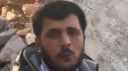 Каннибализм в Сирии: солдат на камеру съел сердце и печень врага