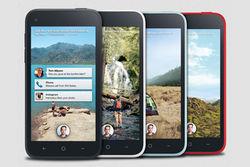 Facebook и HTC анонсировали смартфон HTC First за 100 долларов