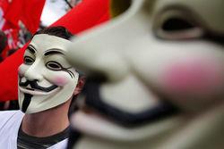 Член хакерской группы Anonymous арестован в США