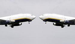 Пилотам двух Боингов удалось избежать рокового столкновения