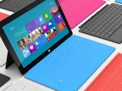 Сегодня начались продажи планшета Surface c Windows 8 Pro