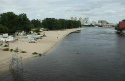 пляжи Киева