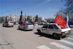 Стартовал автопробег патриотической акции «Дорогами Победы»